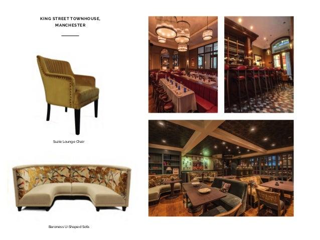 Pier Bar Stool Westminster Ottoman GOTHAM HOTEL, MANCHESTER