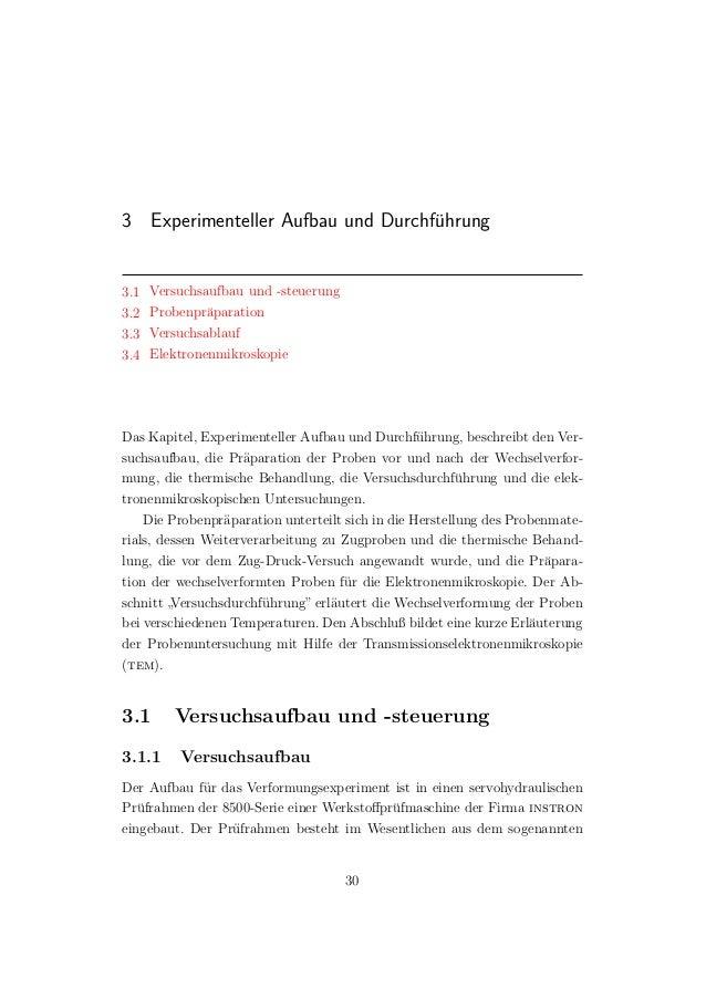 3 Experimenteller Aufbau und Durchf¨uhrung 3.1 Versuchsaufbau und -steuerung 3.2 Probenpr¨aparation 3.3 Versuchsablauf 3.4...