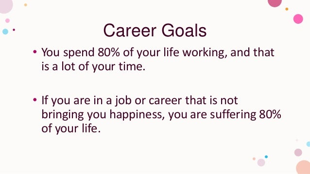 9 different types of goals you should set Slide 2