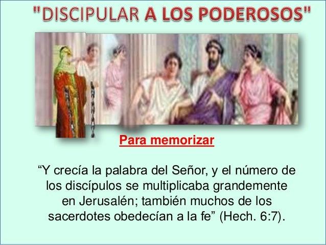 """Para memorizar """"Y crecía la palabra del Señor, y el número de los discípulos se multiplicaba grandemente en Jerusalén; tam..."""