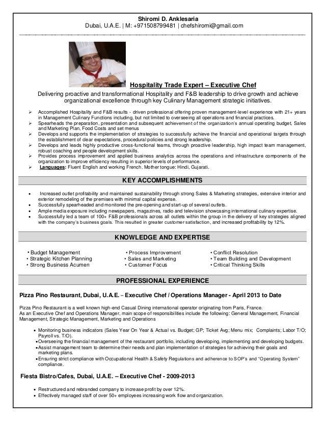 Nett Hospitality Management Lebenslauf Fähigkeiten Galerie - Entry ...
