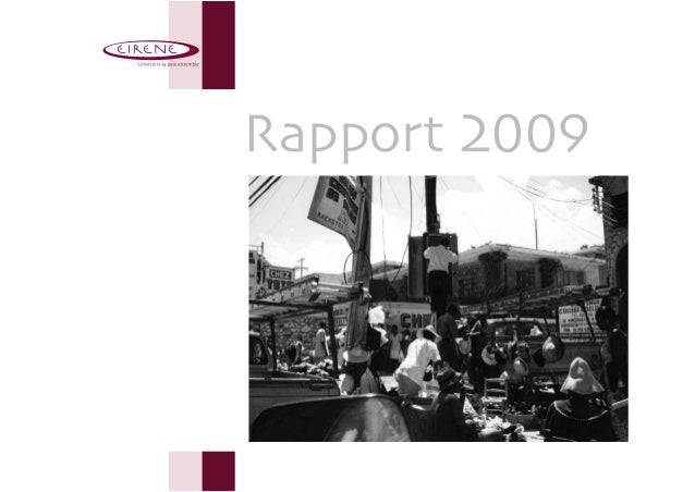 Rapport 2009