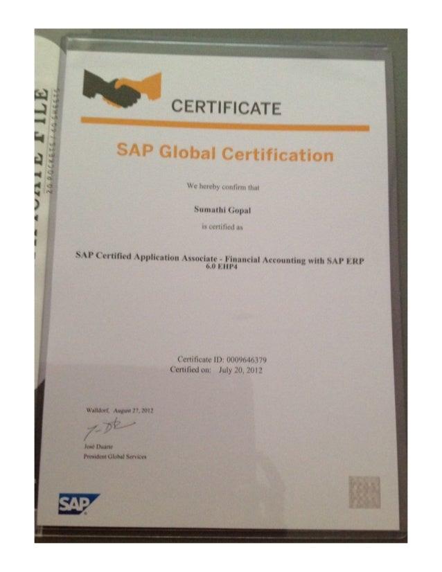 sap fi certification copy