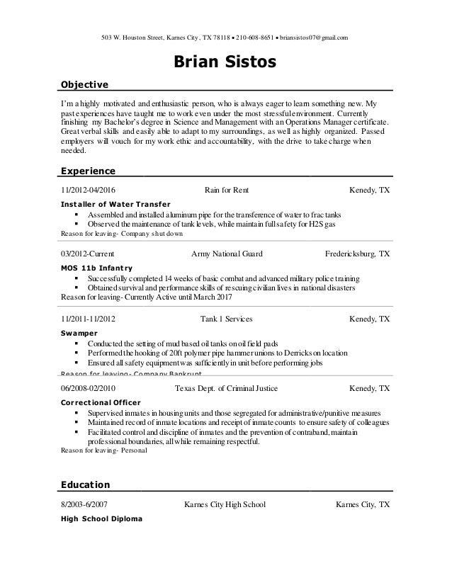 b sistos resume