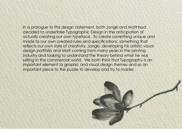 Typographic Design Slide 2
