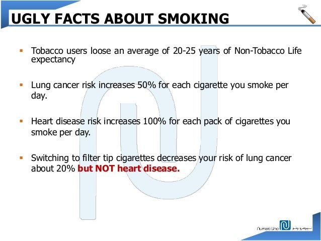 MODULE 1 INTRODUCTION; 8. UGLY FACTS ABOUT SMOKING ...
