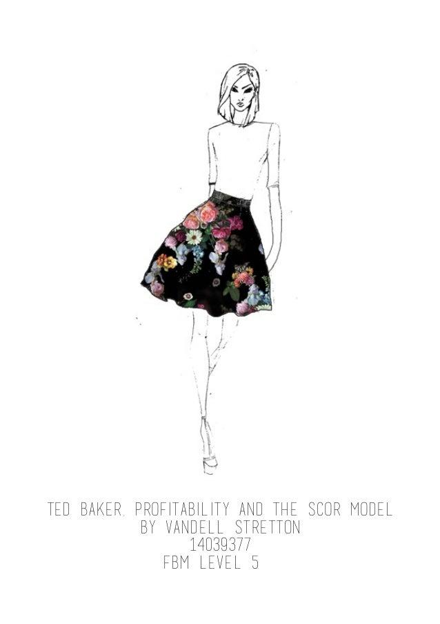 Ted Baker Garment Analysis