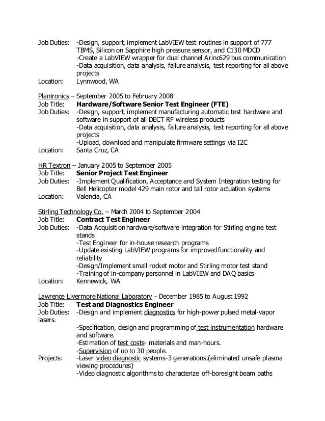 failure analysis engineer resume 100 images cell