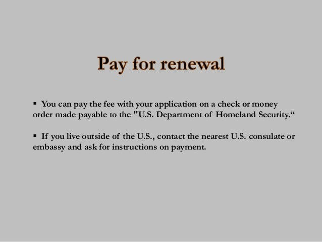 9 easy steps to renew your green card 14 ccuart Images