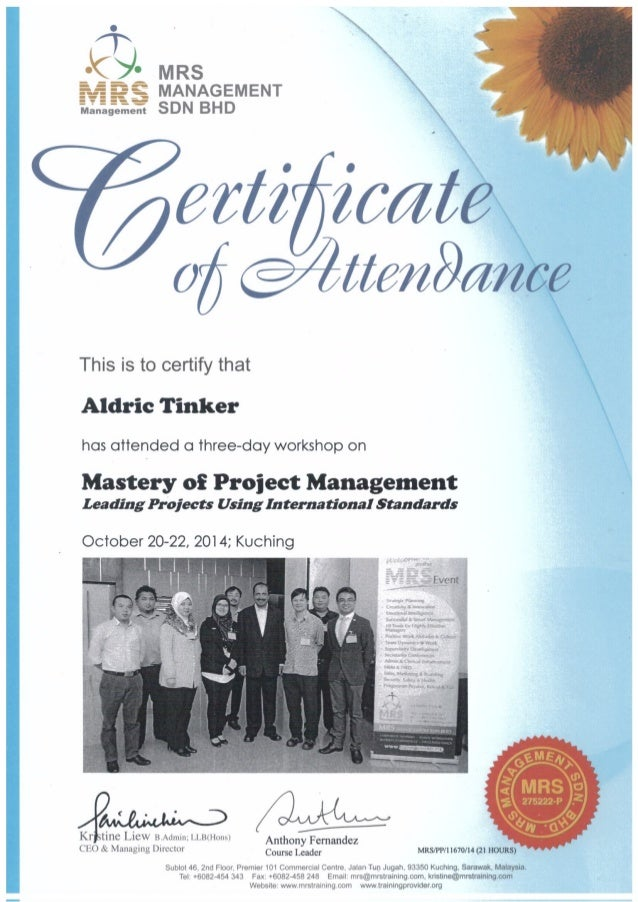 AT - Project Management Mastery