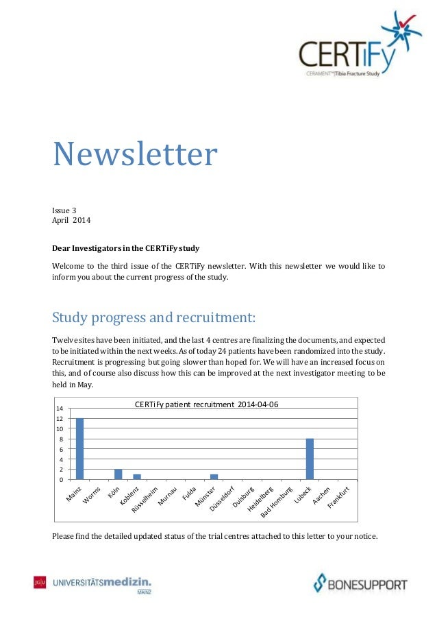 An analysis of the e mail newsletters