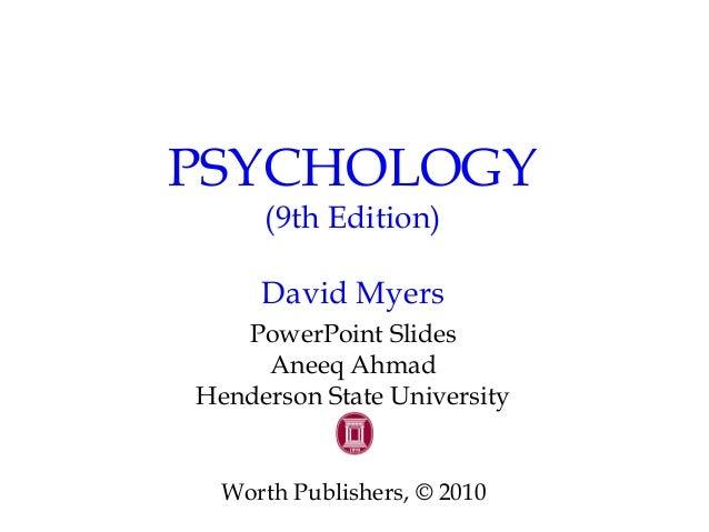 Social Psychology David Myers 10th Edition Pdf