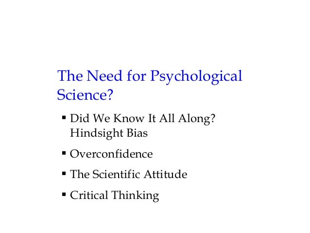 differences between psychology and common sense Title: the relationship between scientific psychology and common-sense psychology created date: 20160807020222z.