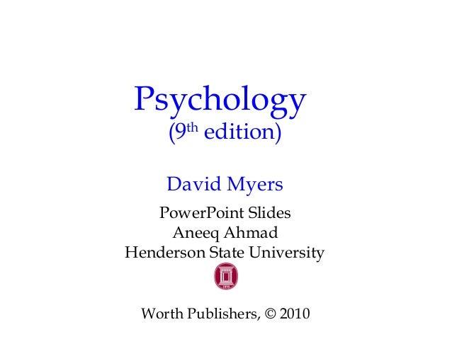 Chapter 2 Myers Psychology 9e
