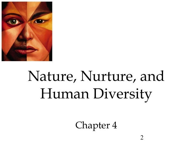 Nature Nurture And Human Diversity Chapter