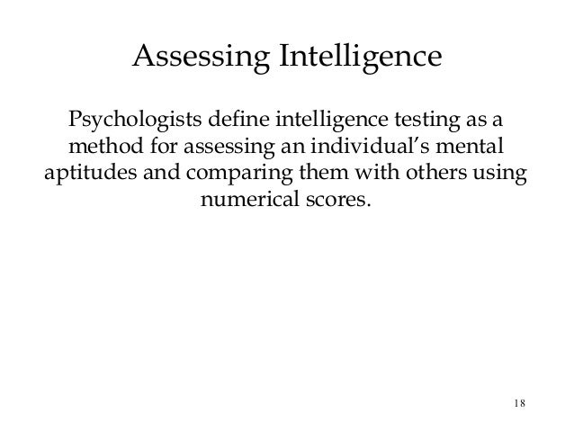 the question of whether iq measures intelligence The test of emotional intelligence measures overall  emotional intelligence and question whether  intelligence quotient (iq),.