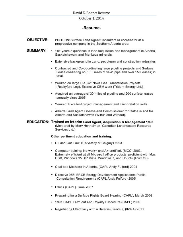 david boone landman resume revised .