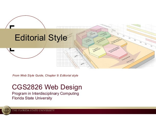 © 2004 Ken Baldauf, All rights reserved. Editorial Style CGS2826 Web Design Program in Interdisciplinary Computing Florida...