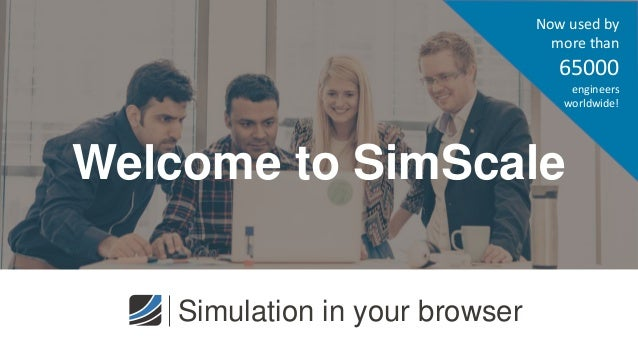 Welcome to SimScale