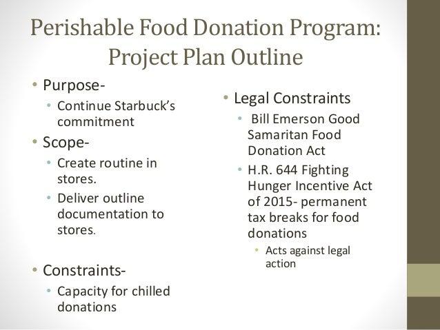 The Bill Emerson Good Samaritan Food Donation Act