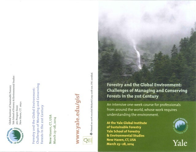 Executive Course pamphlet
