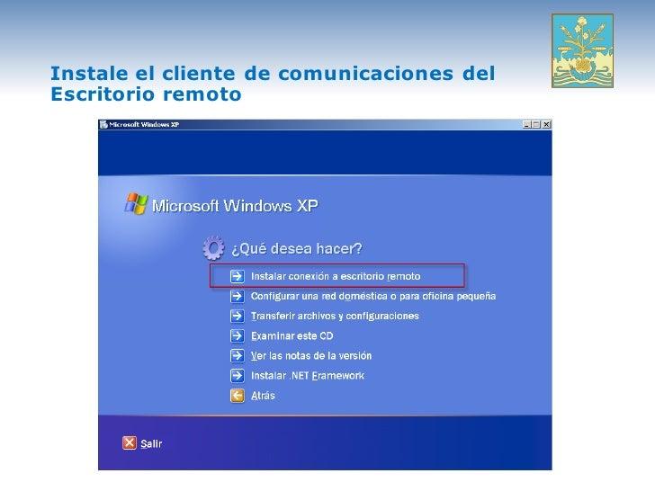 9 escritorio remotoasoitsonp - Activar escritorio remoto windows xp ...