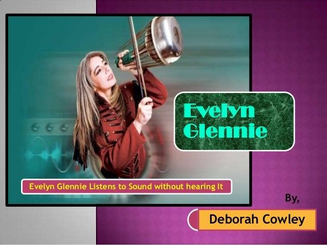 Evelyn glennie hearing essay