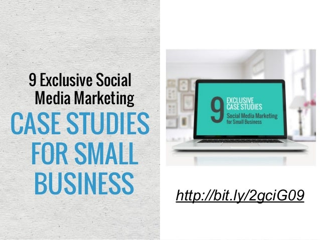 case study social media marketing small business