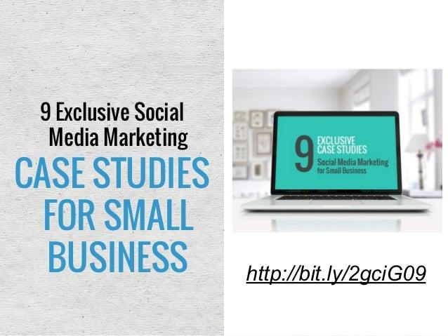 case study social media marketing small business