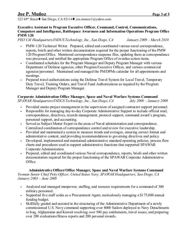 Funky Resume Chief Administrative Officer Image Collection - Resume ...
