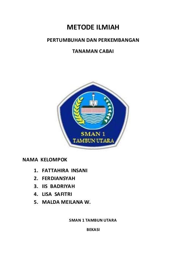 Metode Ilmiah Tanaman Cabai