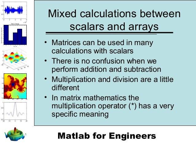 Chapter 2 - Matlab Environment