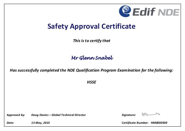 how to get approved managers certificate
