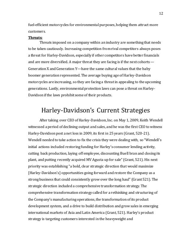 hurley davidson case study How did harley davidson first hear about digital-tutors while we were in the process of learning different software, a colleague mentioned to look at digital-tutors.