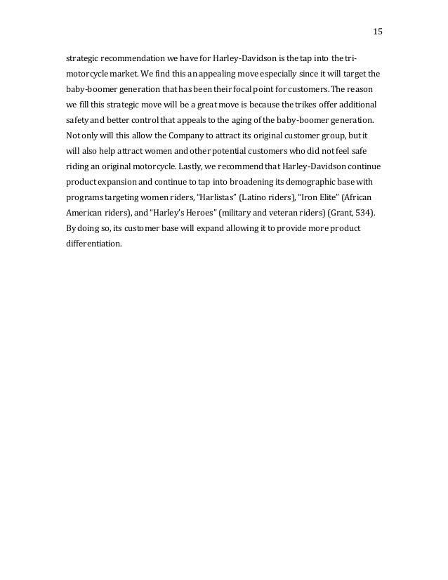 harley davidson inc case study analysis Free case study solution & analysis | caseforestcom harley davidson situation analysis situation audit history the legendary motorcycle company, harley-davidson.
