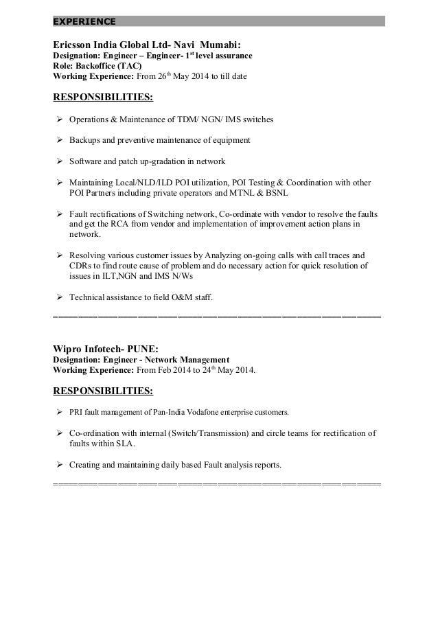 resume voice