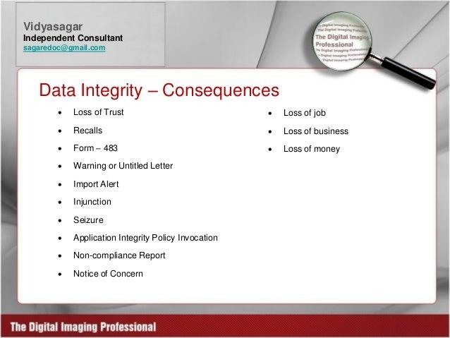 Fda Data Integrity Issues Dms Hot Fixes