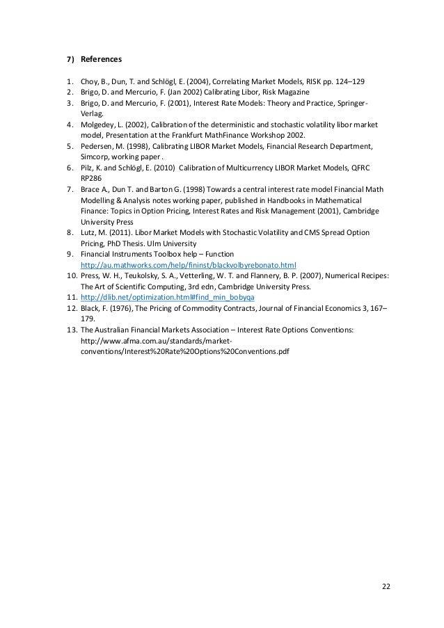Brigo mercurio interest rate models theory and practice pdf