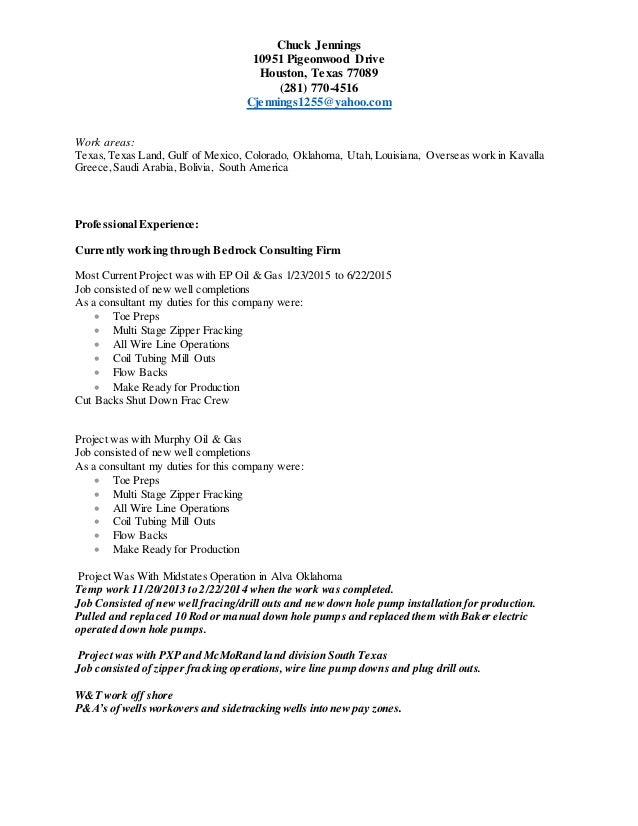 chuck jennings resume 7 30 2015 new resume
