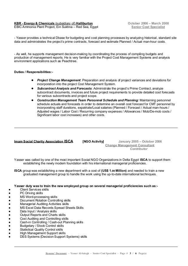 yasser al-saiegh - resume