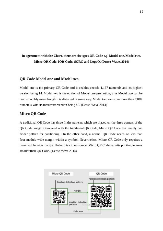 Research Information Elements In Qr Code