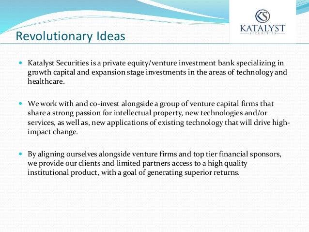 Katalyst Presentation Financing The Futurs