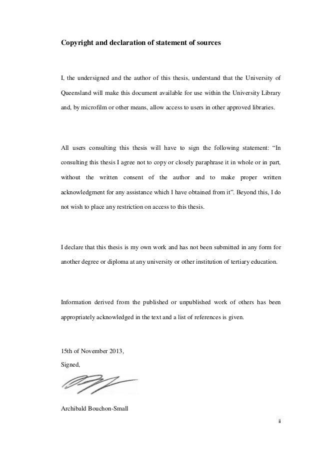 Dissertation declaration statement student essay contests