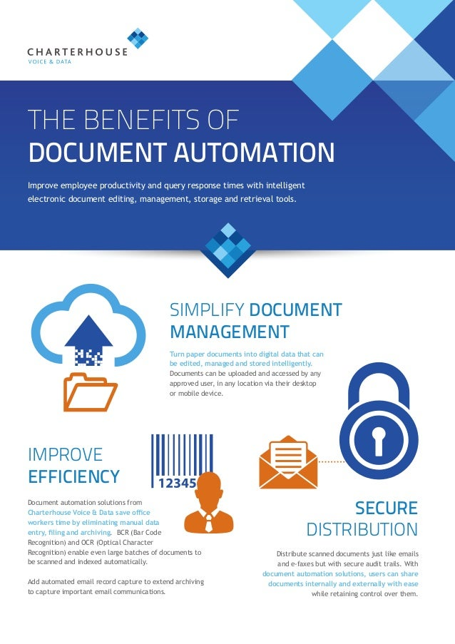 The Benefits Of Document Automation