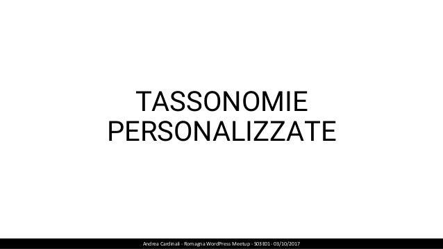6 SITI SU 10 REALIZZATI CON CMS SONO WORDPRESS POWERED… Andrea Cardinali - Romagna WordPress Meetup - S03E01- 03/10/2017