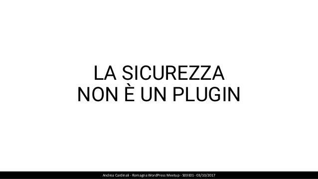 CAUSA VISUAL COMPOSER Andrea Cardinali - Romagna WordPress Meetup - S03E01- 03/10/2017