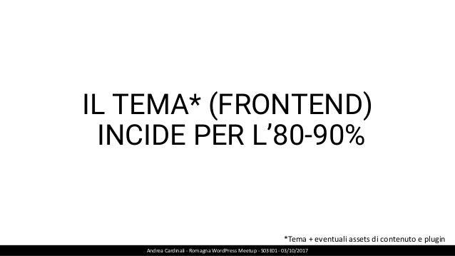 CUGGINI Andrea Cardinali - Romagna WordPress Meetup - S03E01- 03/10/2017 CAUSA