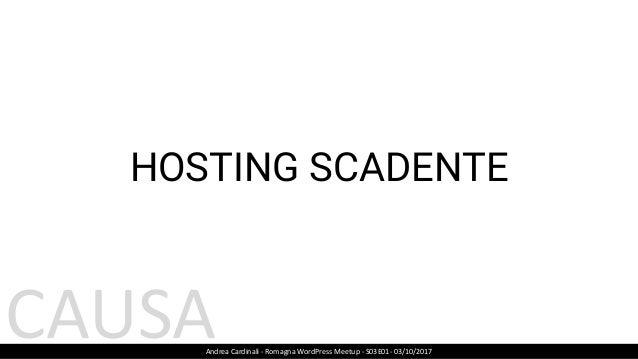 PLUGIN ADEGUATI https://wpengine.com/support/disallowed-plugins/ Andrea Cardinali - Romagna WordPress Meetup - S03E01- 03/...