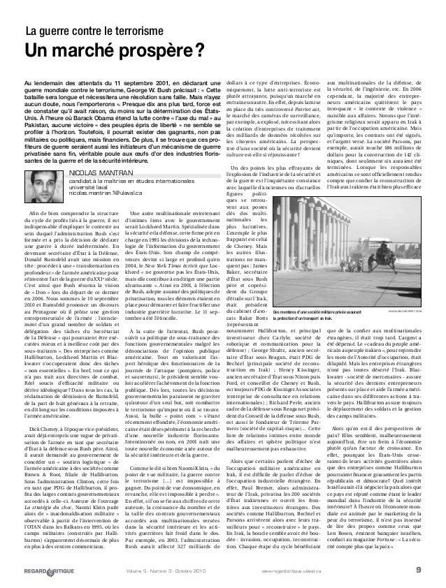 9Volume 5 - Numéro 3 - Octobre 2010 www.regardcritique.ulaval.ca Afin de bien comprendre la structure du cycle de profits ...