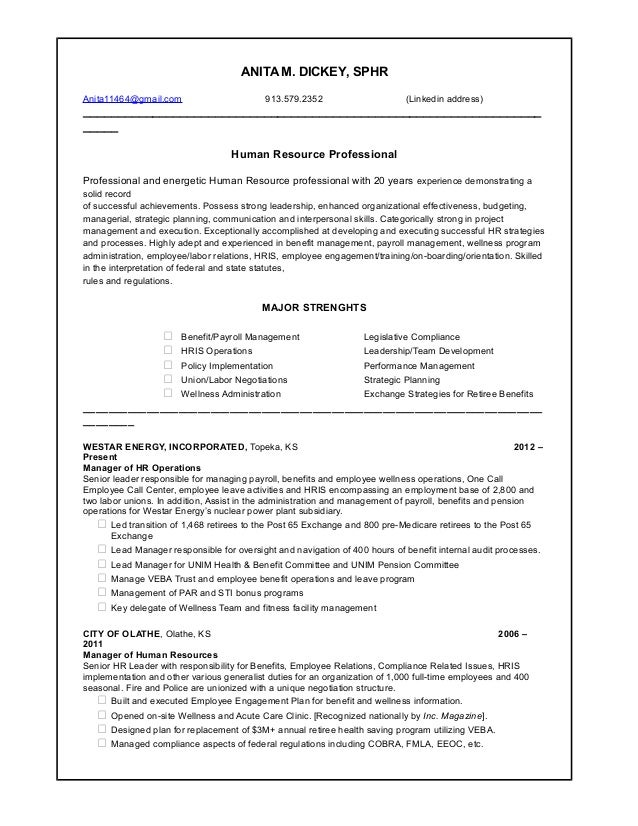 Colorful Westar Energy Resume Wichita Ks Crest - Administrative ...